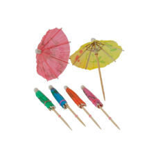 Scobitori decorative umbreluțe