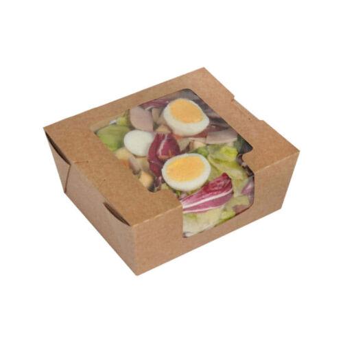 Cutie pentru salate cu fereastră