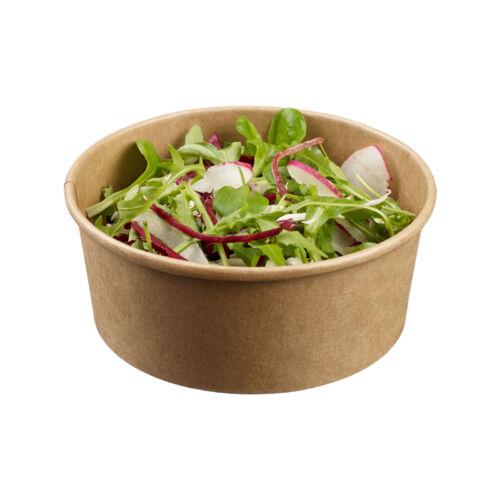 Bol salata din carton kraft