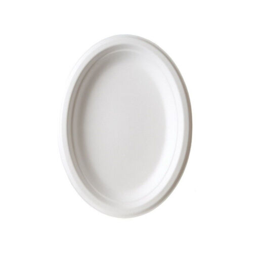 Platou oval biodegradabil