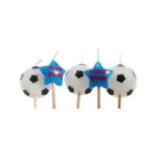 Lumânări fotbal și stele, set 5