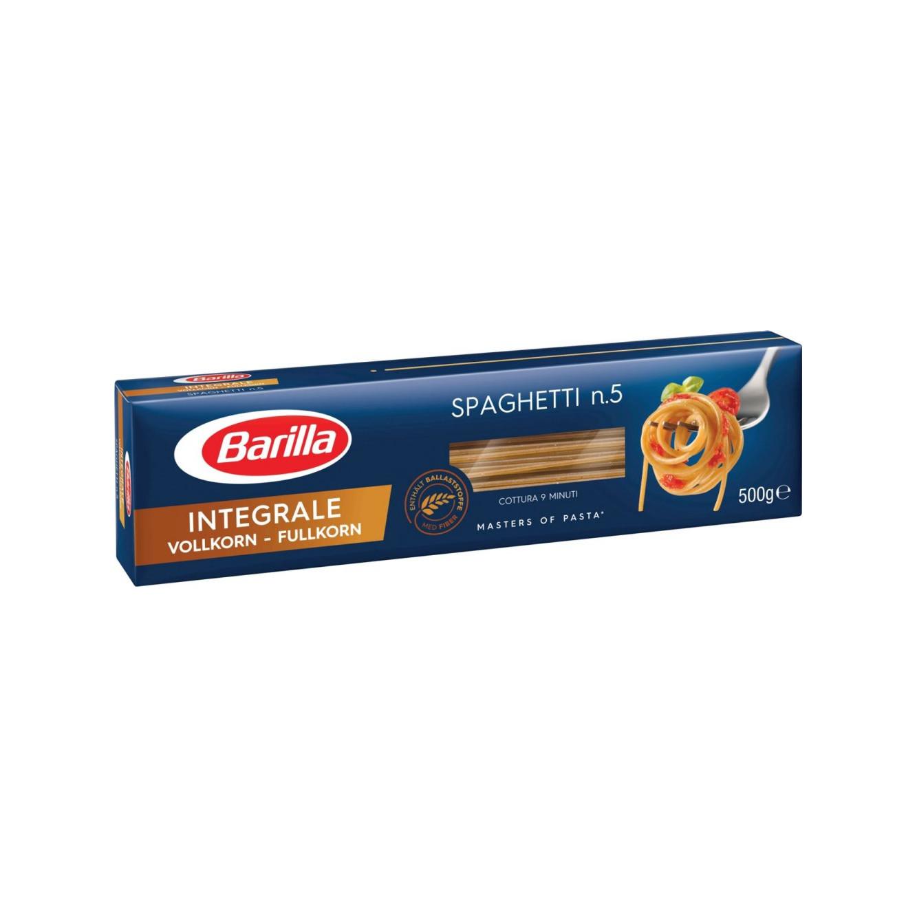 Spaghetti integrale no 5